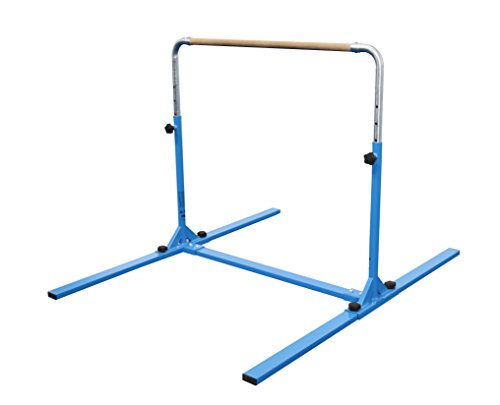 Tumbl Trak Jr Bar PRO Adjustable Gymnastics Training Bar, Blue