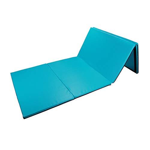 Polar Aurora 4'x10'x2 Thick Folding Gymnastics Exercise Mat Aerobics Stretching...