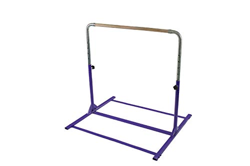 Tumbl Trak Expandable Gymnastics Training Jr Kip Bar, Purple (Includes Free...