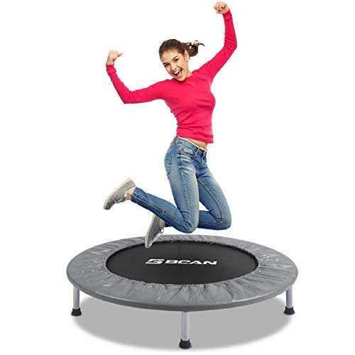 BCAN 38' Foldable Mini Trampoline,...