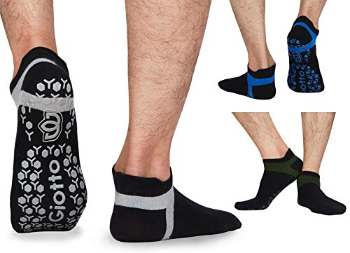 Giotto Non Slip Yoga Socks with Grips...