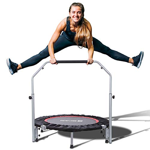 BCAN 40' Foldable Mini Trampoline,...
