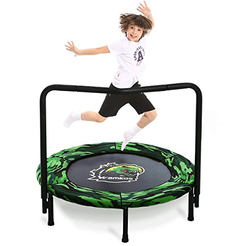 2021 Upgraded Dinosaur Mini Trampoline...