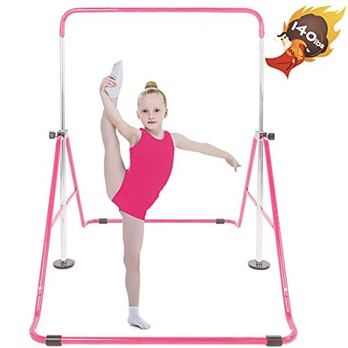 Safly Fun Gymnastics Bar for Kids,...