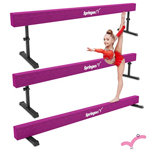 Springee 8ft Adjustable Balance Beam -...