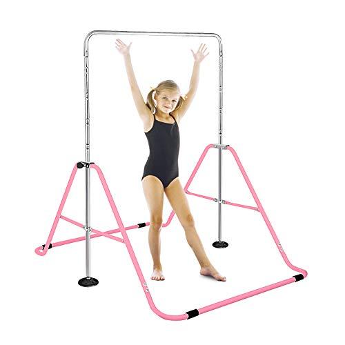 FBSPORT Gymnastics Trainning Kip Bar Expandable Horizontal Bar Adjustable Height...