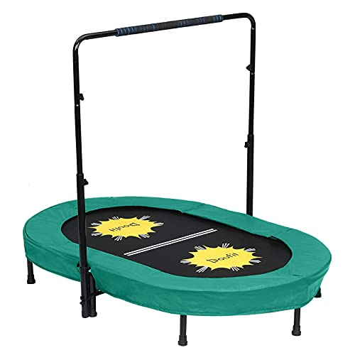 Trampoline for 2 Kids and Adults with...
