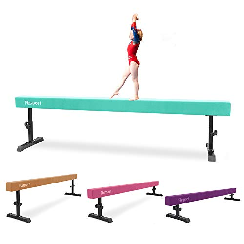 FBSPORT Balance Beam: Folding Floor Gymnastics Equipment for Kids Adults,Non...