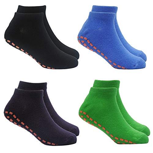 Kids Trampoline Socks Anti-Skid Non Slip...