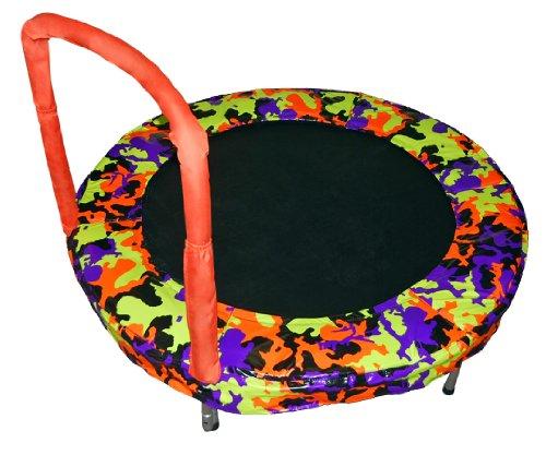 Bazoongi Bouncer Trampoline, 48-Inch, Camouflage Orange