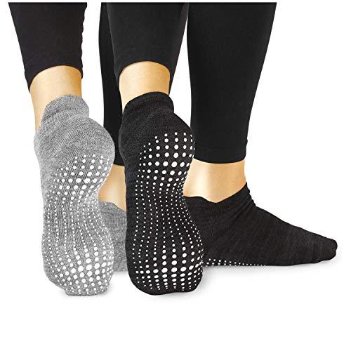 LA Active Grip Socks - 2 Pairs - Yoga...