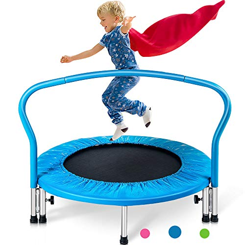 Merax 36' Mini Trampoline for Kids Exercise Rebounder Portable Trampoline with...