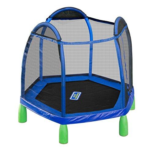 Sportspower My First Trampoline, 84 Inch Heavy Duty Outdoor Children's Bouncer...