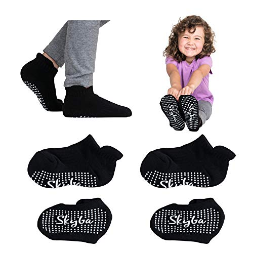 Skyba Toddler Socks With Grips...