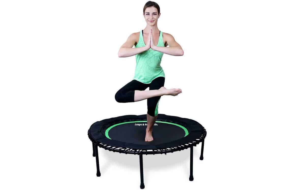 Rebounder Trampoline for Knee Problems