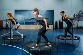 mini trampoline safety