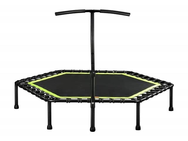mini trampoline safety