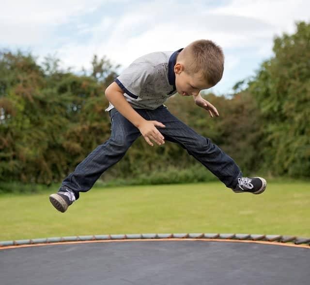 Kids Trampoline Excercises