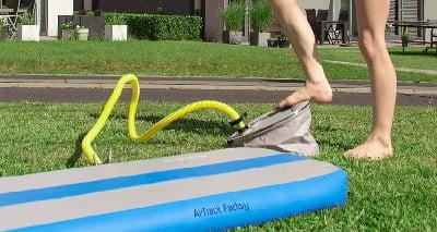 best tumbling air mat