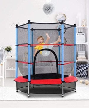 Giantex toddler Trampoline Safety Enclosure Net