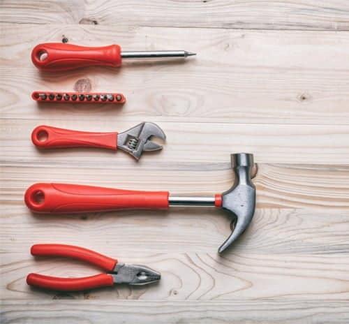 tools for making a gymnastics bar