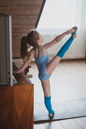 online gymnastics lessons for beginners