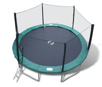 round trampoline good for tricks