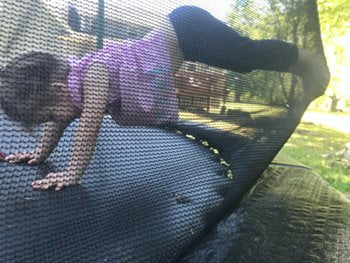 toddler trampoline safety