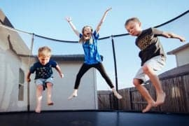 trampolining for toddlers