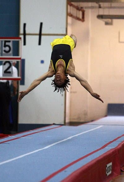tumbling gymnastics champion