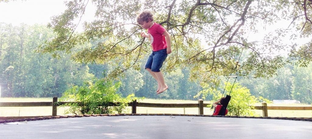 best outdoor trampoline for kids